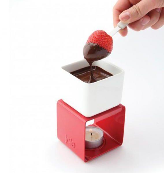 Mini fondue au chocolat
