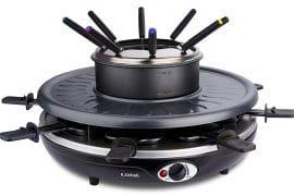 Combiné raclette fondue