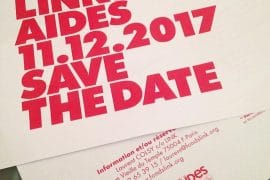 Dîner LINK pour AIDES 2018