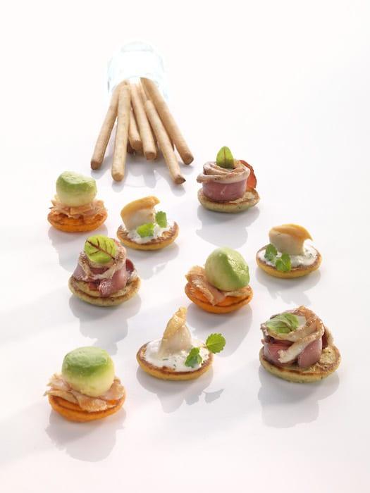 Blinis cocktail par Yvon Morvan