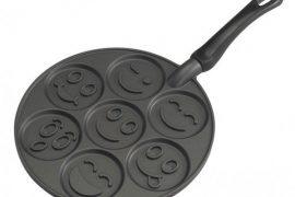 Poêle à blinis et pancakes Smiley