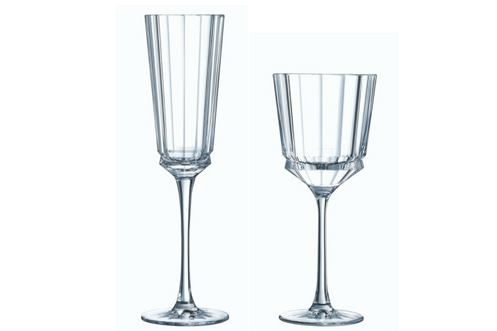 verres Cristal d'Arques