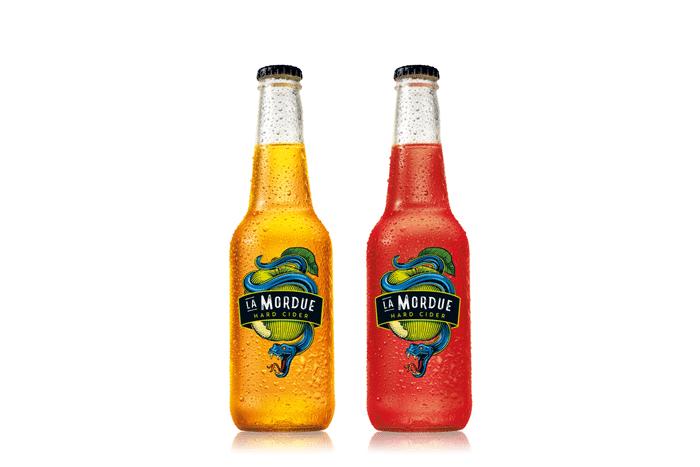 bouteilles de La Mordue