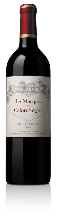 Bouteille de Marquis de Calon-Ségur
