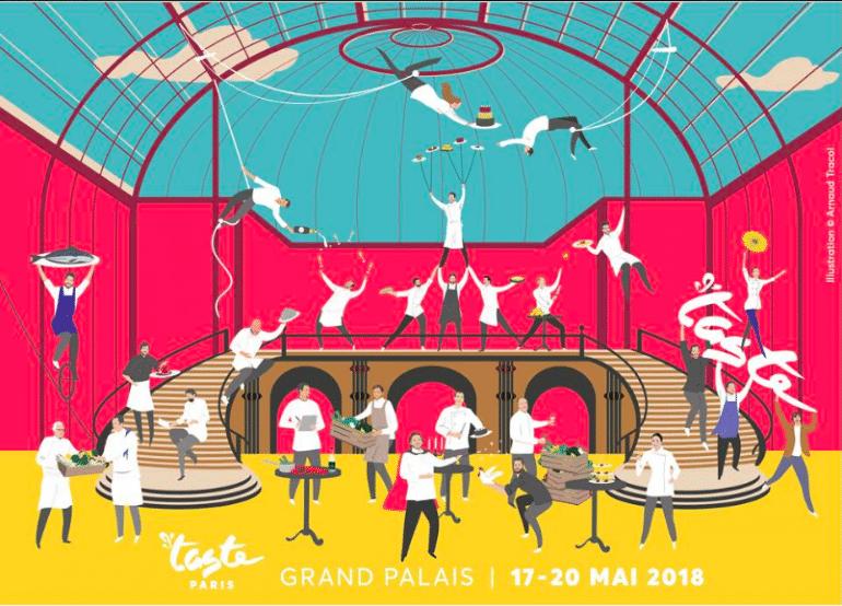 chefs de Taste of Paris 2018