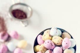 Moins de chocolat à Pâques