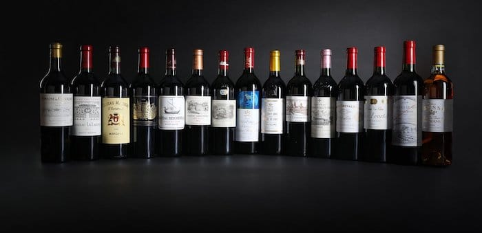 15 Grands Crus de Bordeaux