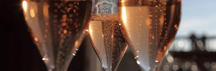 verres de Grande Année Rosé