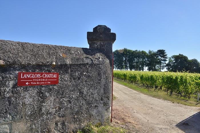 Le vignoble de Langlois-Chateau