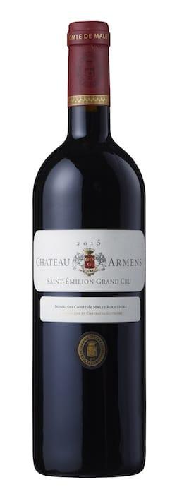 bouteille de Château Armens 2015