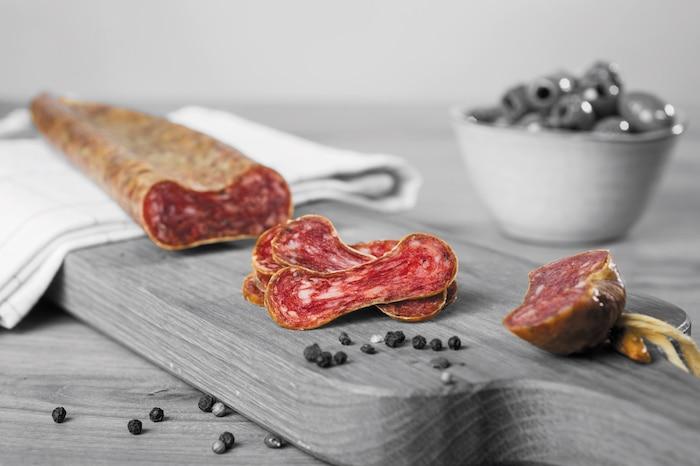 Le saucisson espagnol les Toques Blanches du Monde