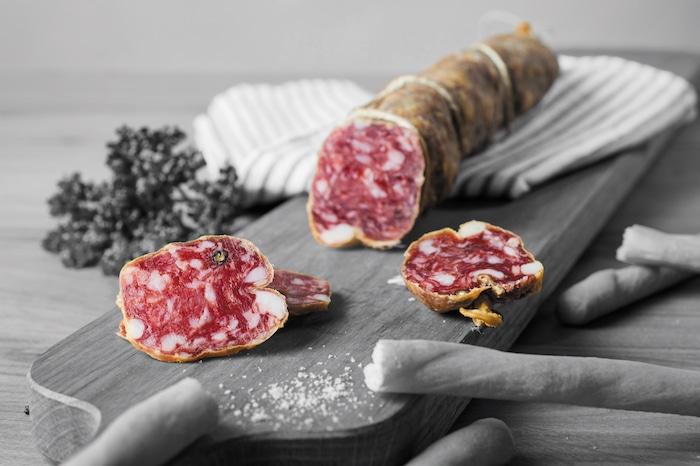 Le saucisson italien Les Toques Blanches du Monde