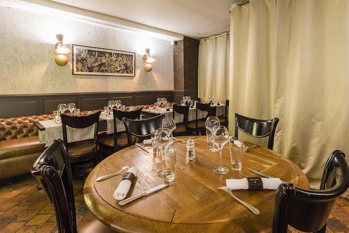 intérieur restaurant Les Tantes Jeanne