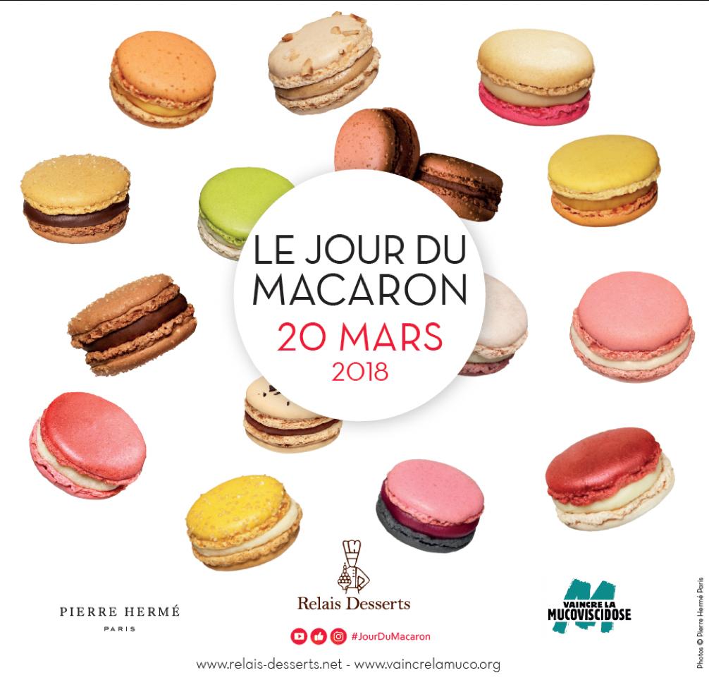 Affiche Le Jour du Macaron
