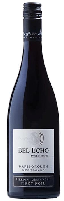 Bouteille de Bel Echo Pinot Noir 2016