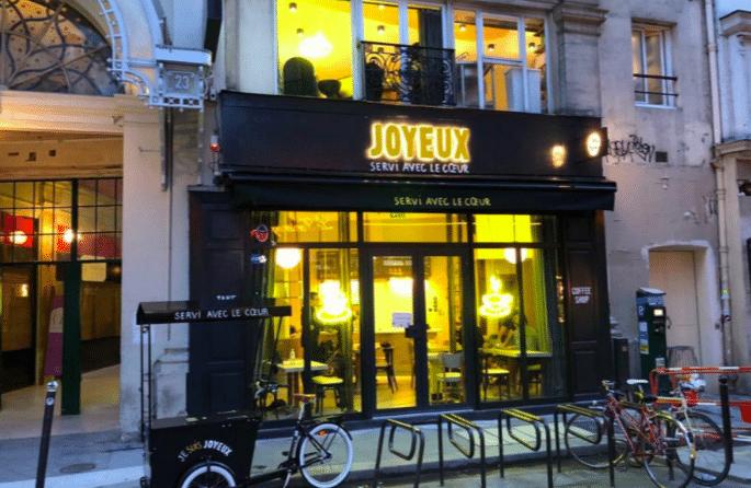 Café Joyeux Paris