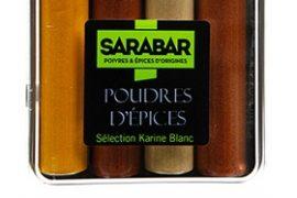 Coffret poudre d'épices Sarabar