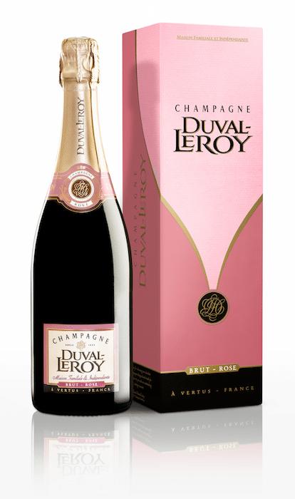 Champagne Brut Rosé Duval-Leroy