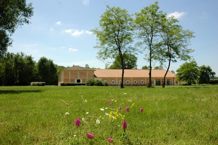 Façade du Château de Villegeorge