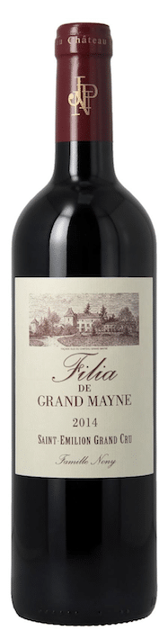 bouteille de Filia de Grand Mayne 2014