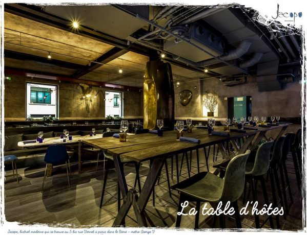 Salle table d'hôtes Jacopo