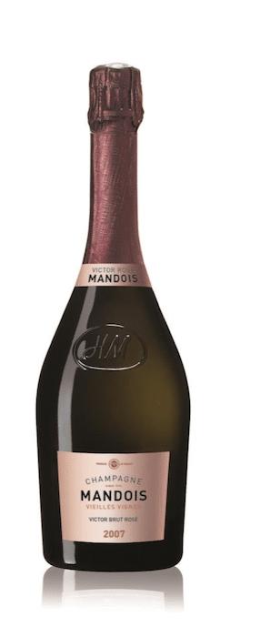 Cuvée Victor Rosé 2007 de Champagne Mandois
