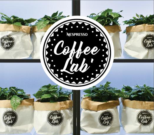 Nespresso coffee lab