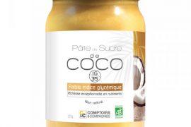 Pâte de sucre de coco bio