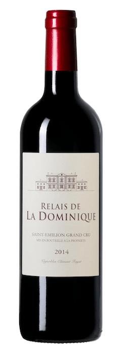 Bouteille de Relais La Dominique 2014