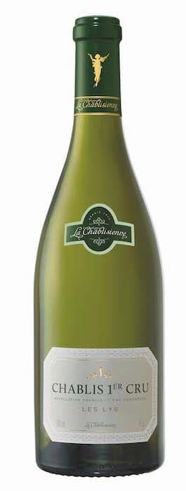 bouteille de chablis 1er cru les Lys 2015