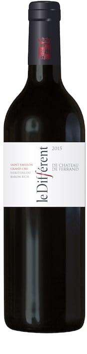 Le Différent 2015 second vin du Château de Ferrand