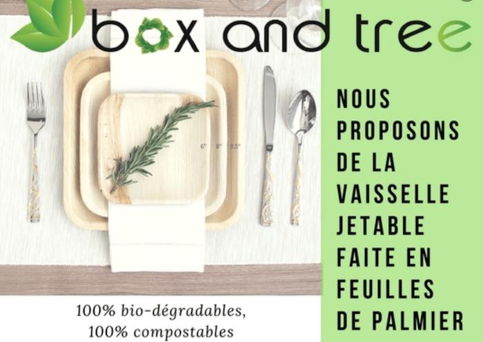 Vaisselle  et  couverts  biodégradables