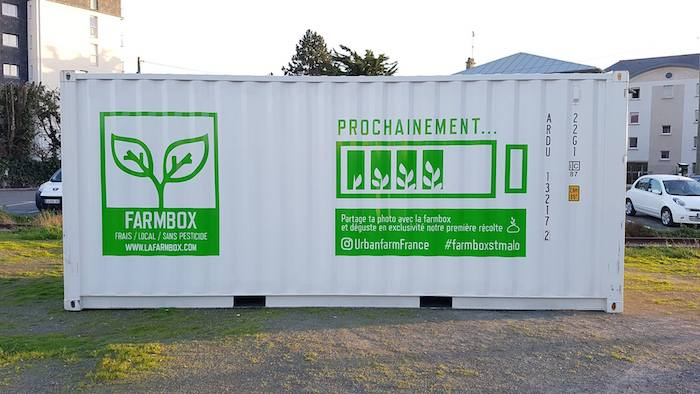 agriculture en container