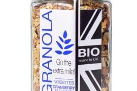 Granola bio - Noisettes cranberry