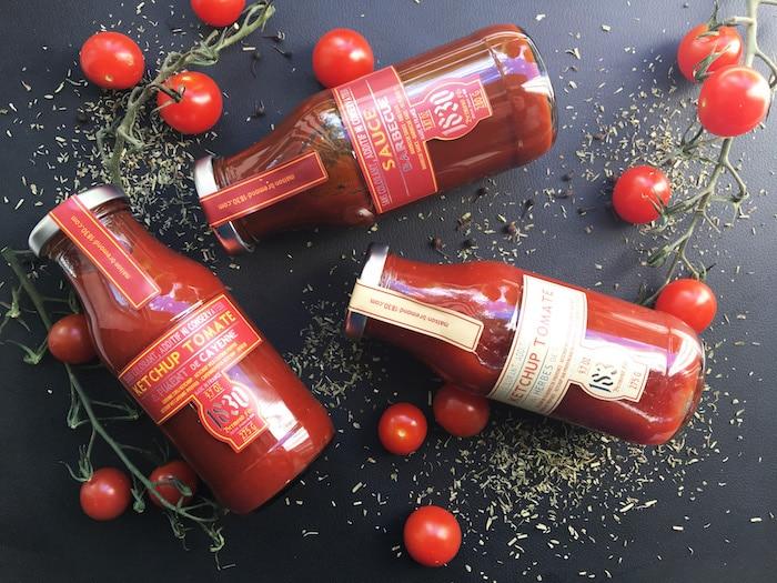 Ketchup et sauce Barbecue Maison Brémond
