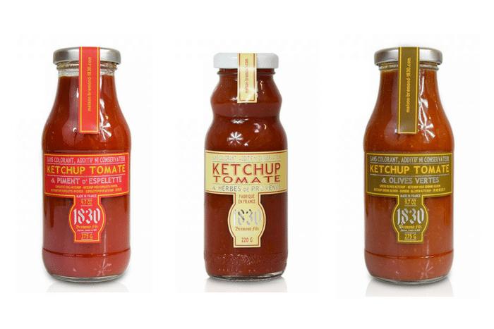 ketchup 100% naturel
