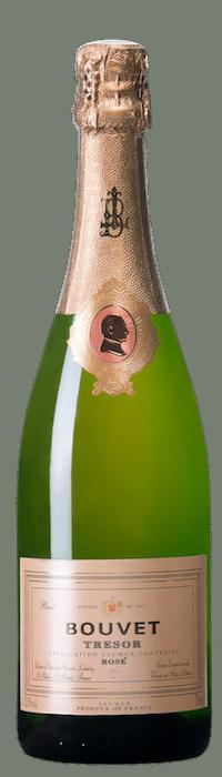 bouteille de Trésor Rosé de Bouvet Ladubay
