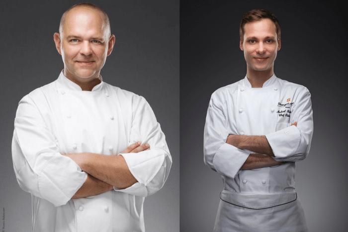 Christophe Moret et Michaël Bartocetti