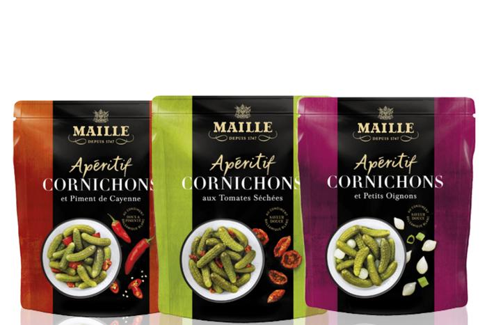 Cornichons apéritif Maille