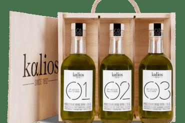Coffret huiles des chefs de Kalios