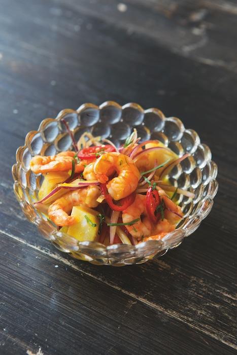 recette de ceviche de crevettes