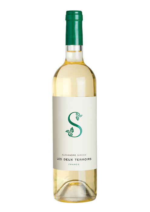 Les Deux terroirs blanc vin d'assemblage
