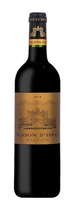 Blason d'Issan Château d'Issan 2014
