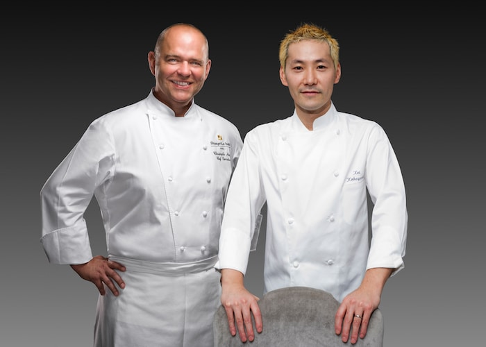 Christophe Moret et Kei Kobayashi