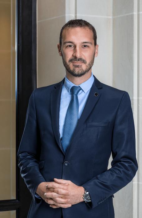 Cyril Mouty Directeur de la Restauration du Burgundy Paris