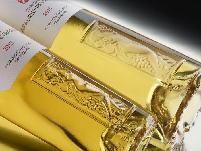 Lafaurie-Peyraguey bouteilles Lalique