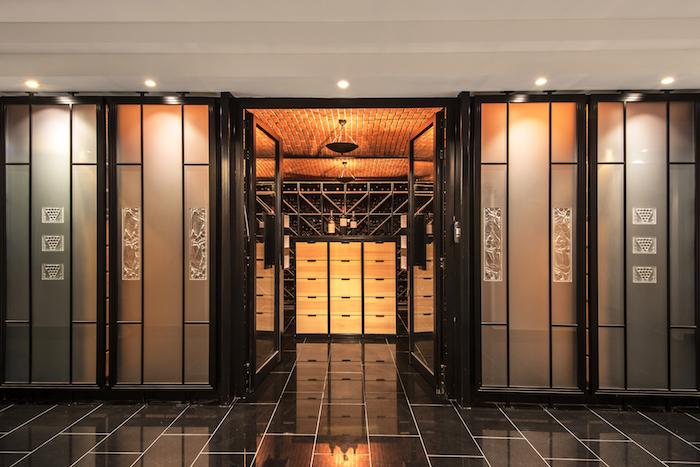 cave du Restaurant Lalique