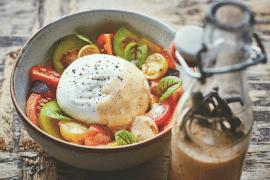 Burrata Tomate de Christophe Adam