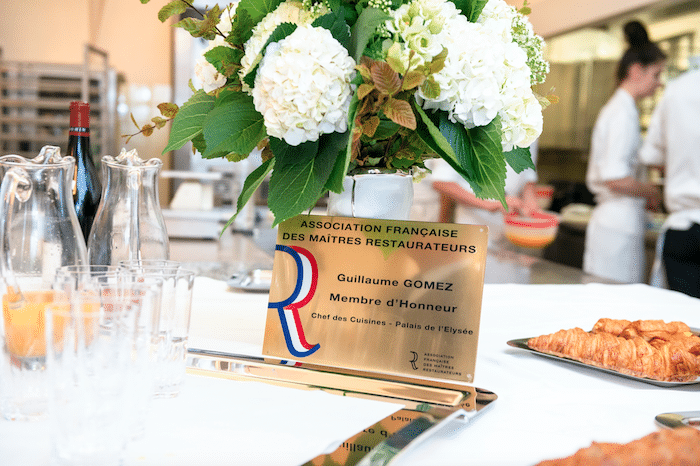 Guillaume Gomez membre d'honneur des Maîtres Restaurateurs