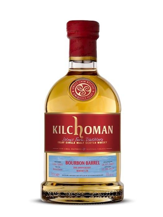 Kilchoman 10 ans 2007 anniversaire Maison du Whisky